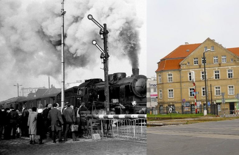 Świdnica wczoraj i dziś. Ul.Wałbrzyska