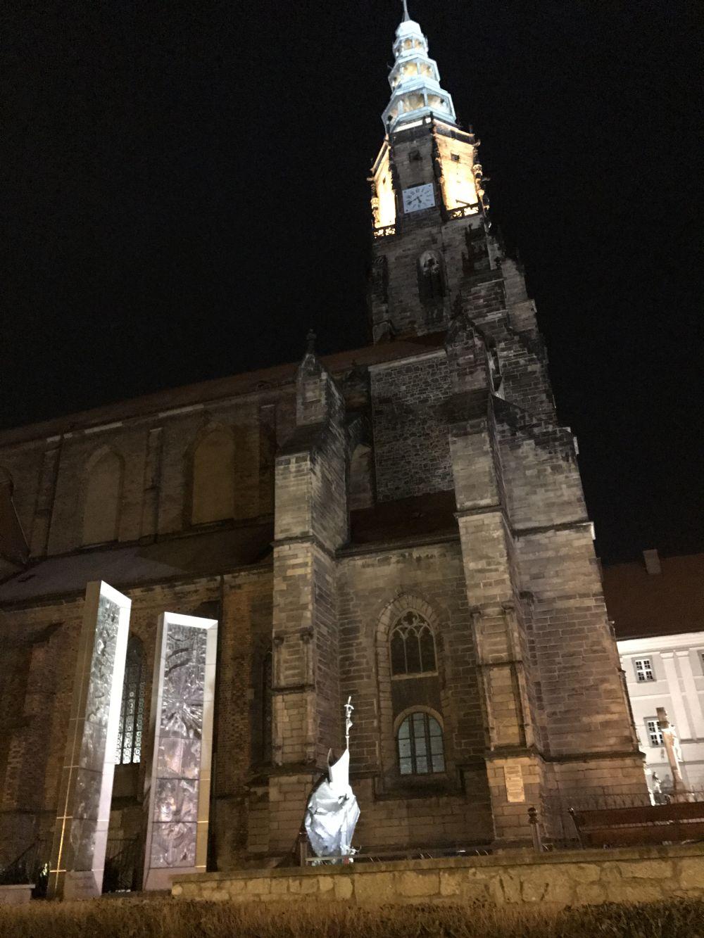 Świdnicka katedra, 28.12.2019, fot. Brygida Lurka
