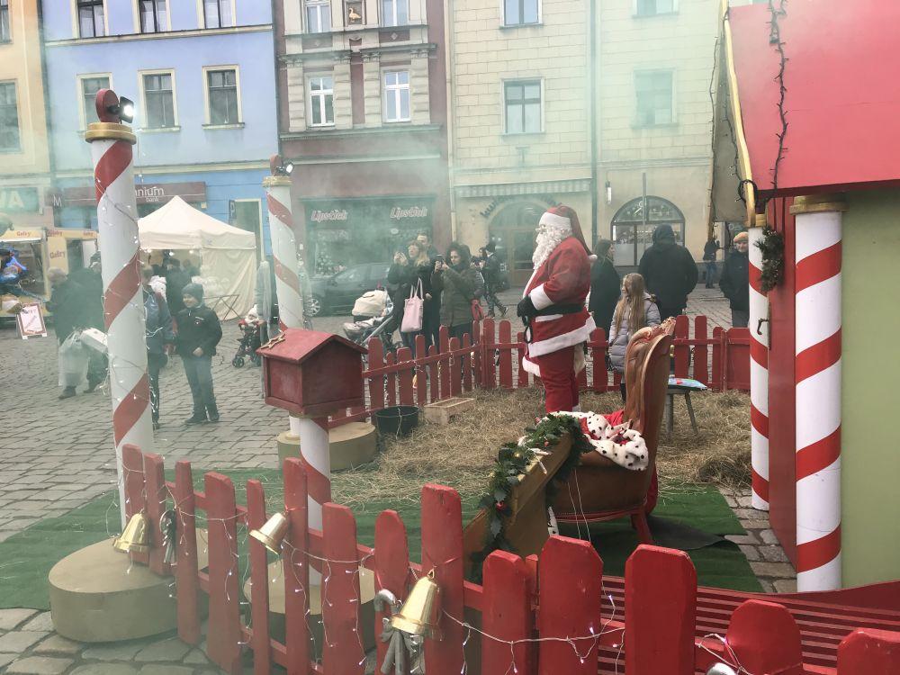Rynek w Świdnicy, 21.12.2019, fot. Maria Szymańska