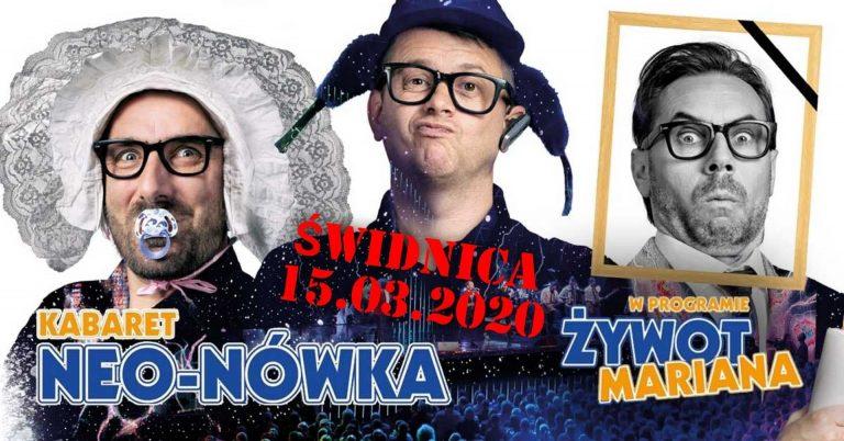 Występ kabaretu Neo-Nówka w nowym terminie po decyzji o odwołaniu imprez masowych