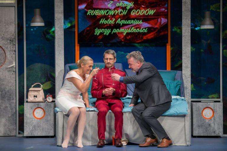 """Nowy spektakl """"Rubinowe gody"""" w świdnickim teatrze [KONKURS]"""