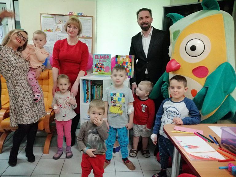 Zaczytana Biblioteka dla najmłodszych pacjentów świdnickiego szpitala