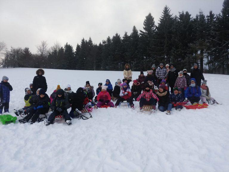 Zimowe wyprawy uczniów z Zastruża [FOTO]