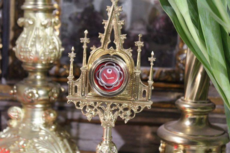 Relikwie świętych w świdnickiej katedrze [FOTO]