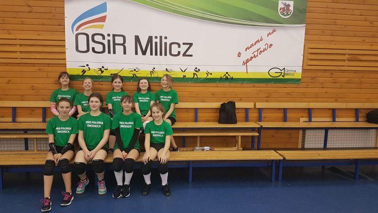 Młode siatkarki zagrały w Miliczu [FOTO]
