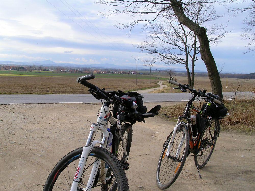 Sezon rowerowy 2020 rozpoczęty, Kalno, 17 luty 2020, fot. Jerzy Kaczkowski