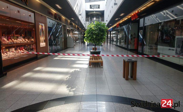 Galeria Świdnicka po wprowadzeniu stanu zagrożenia epidemicznego [FOTO]