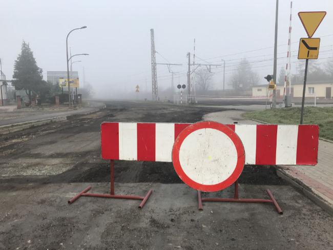 Droga Żarów-Jaworzyna w remoncie