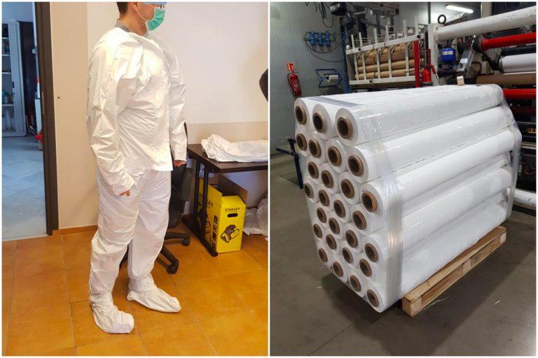 """Chcą produkować ochronne kombinezony dla medyków. """"Udało się przygotować prototypy, trwają testy"""""""