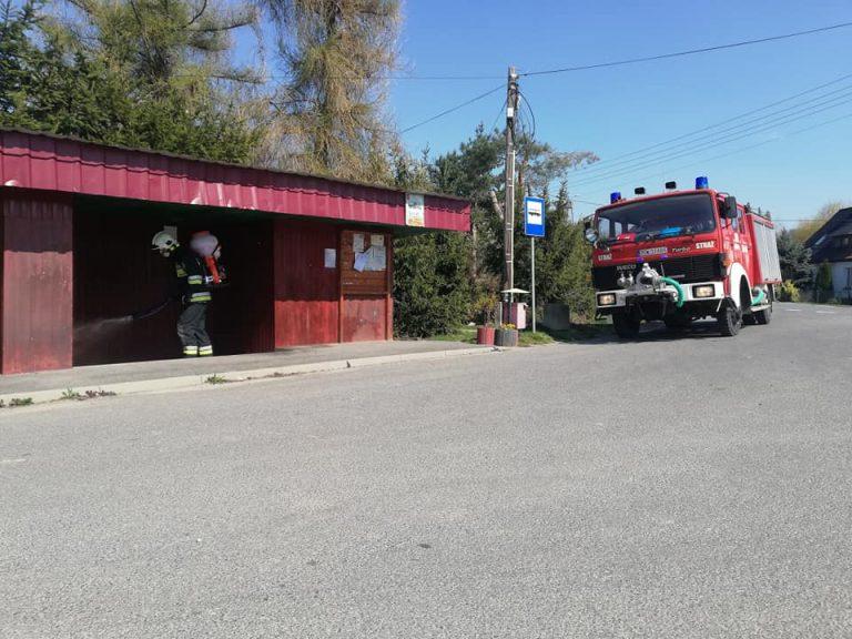 Strażacy z Mrowin kontra koronawirus