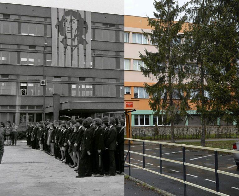 Świdnica wczoraj i dziś. Ul. Sikorskiego – Zespół Szkół Mechanicznych