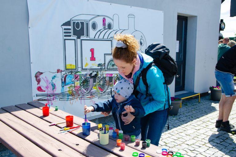 Dzień Dziecka z parowozem Tomkiem w Muzeum Kolejnictwa w Jaworzynie Śląskiej [FOTO]