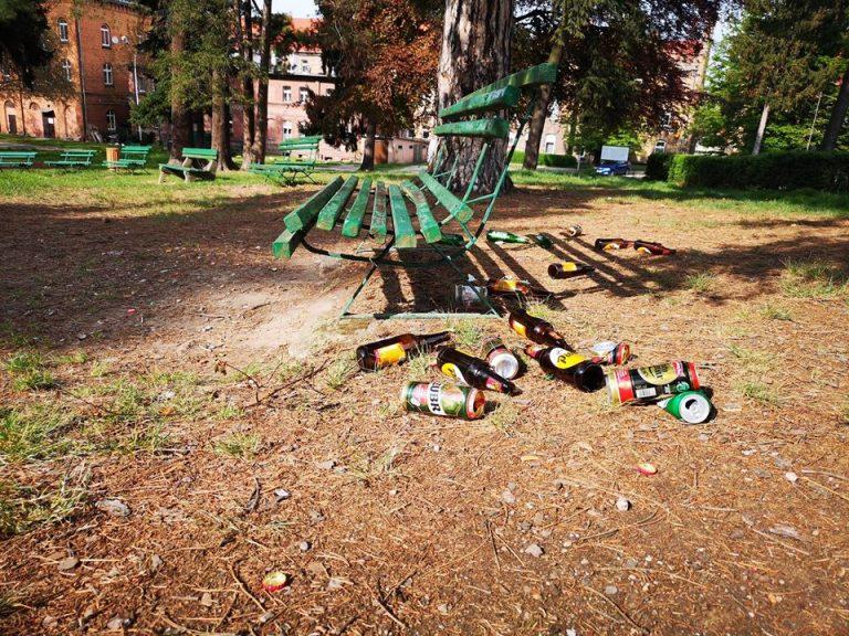 Chcą wysprzątać park w Żarowie