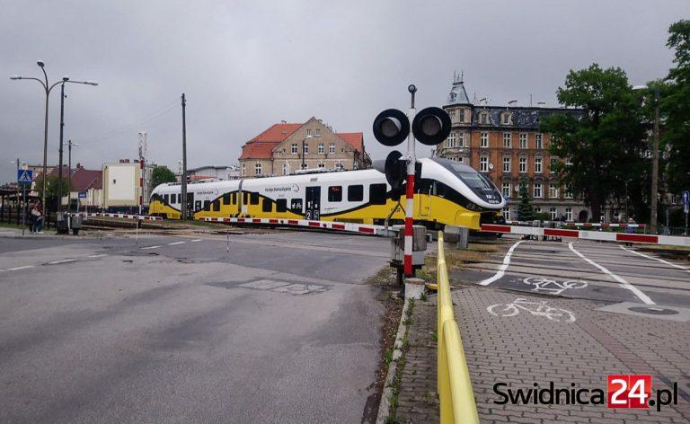 Przejazd na Wałbrzyskiej do (częściowego) remontu