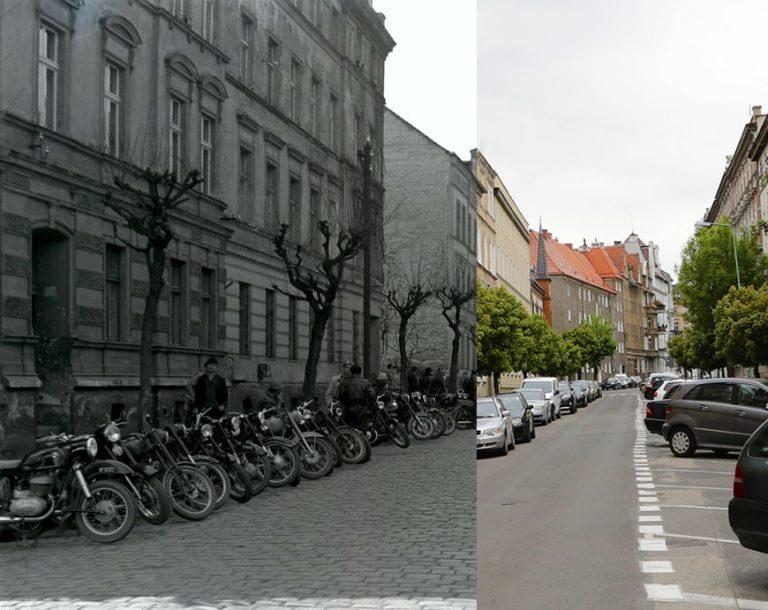 Świdnica wczoraj i dziś. Ul. Lelewela