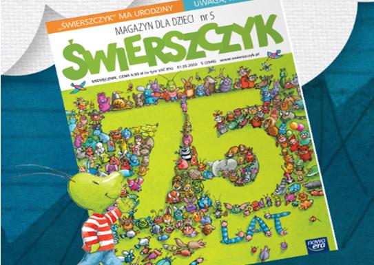 Najstarszy magazyn dla dzieci w Europie świętuje swoje urodziny  – Świerszczyk ma już 75 lat!