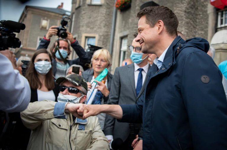 Rafał Trzaskowski na finiszu kampanii odwiedzi Świdnicę