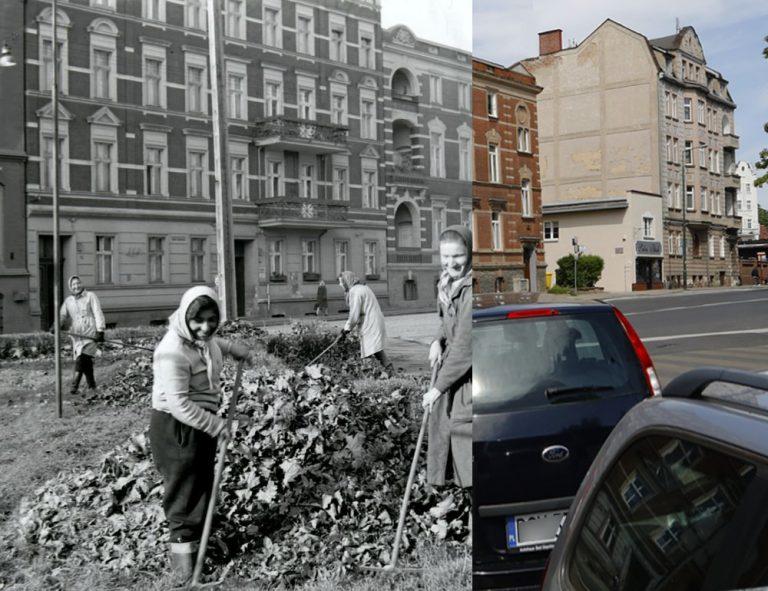 Świdnica wczoraj i dziś. Ul. Żeromskiego
