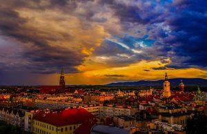 Czerwcowy wieczór w Świdnicy. Fot. Dariusz Nowaczyński