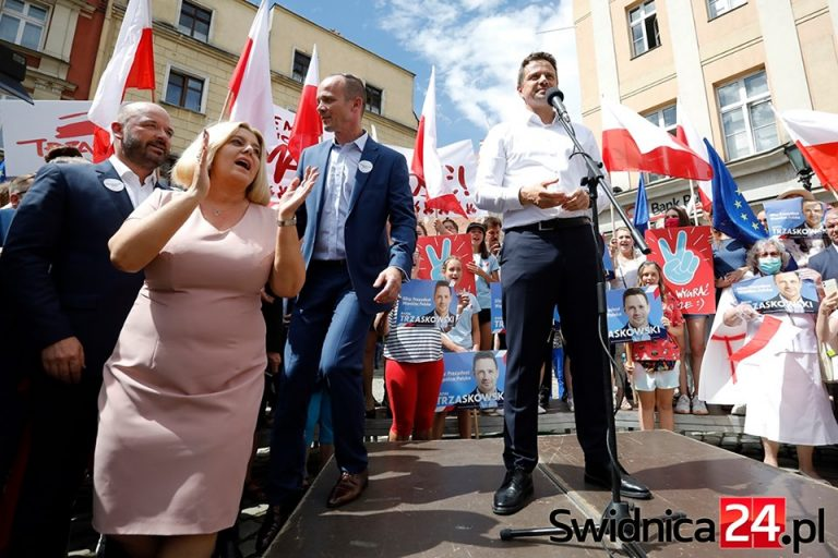 Rafał Trzaskowski w Świdnicy [Foto/Video]