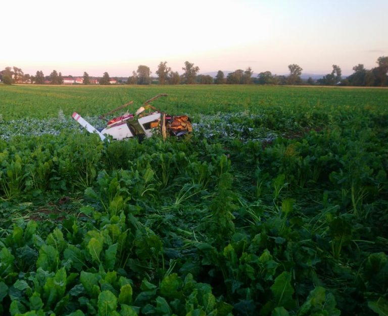 Niesprawność jednej z łopat wirnika przyczyną katastrofy śmigłowca w Strzegomiu?