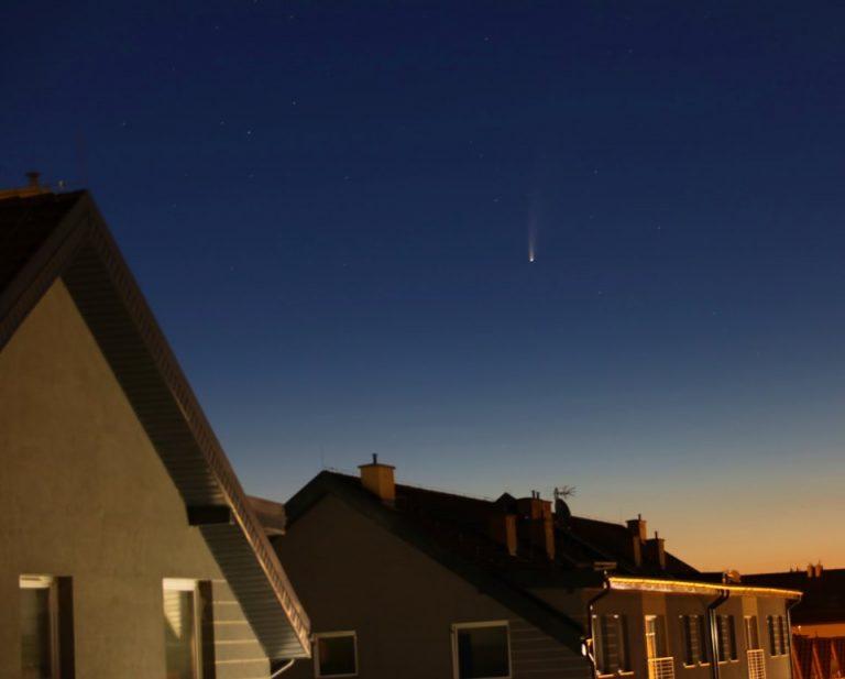 Kometa na wyciągnięcie ręki [FOTO]