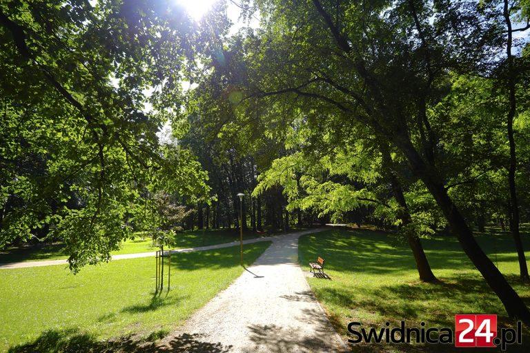 Zielona strona Świdnicy. Park im. Sikorskiego: od fortyfikacji, przez amfiteatr, po górkę saneczkową