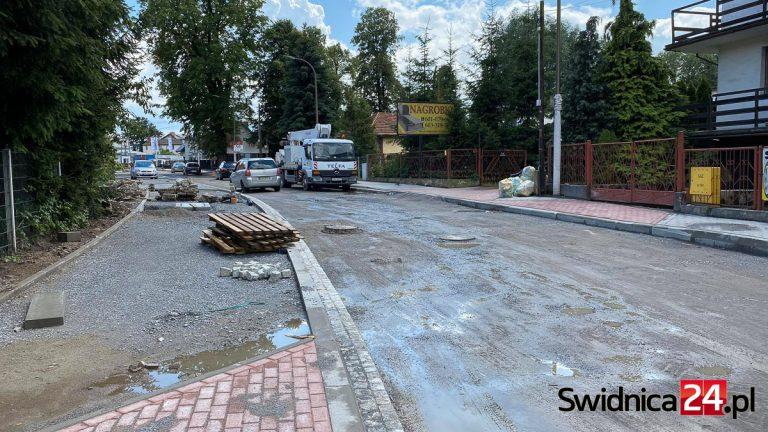 Zbliża się kolejny etap przebudowy ulicy Kraszowickiej. Będą objazdy