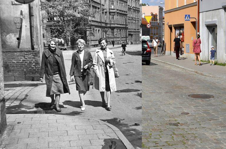 Świdnica wczoraj i dziś. Ul. Bohaterów Getta