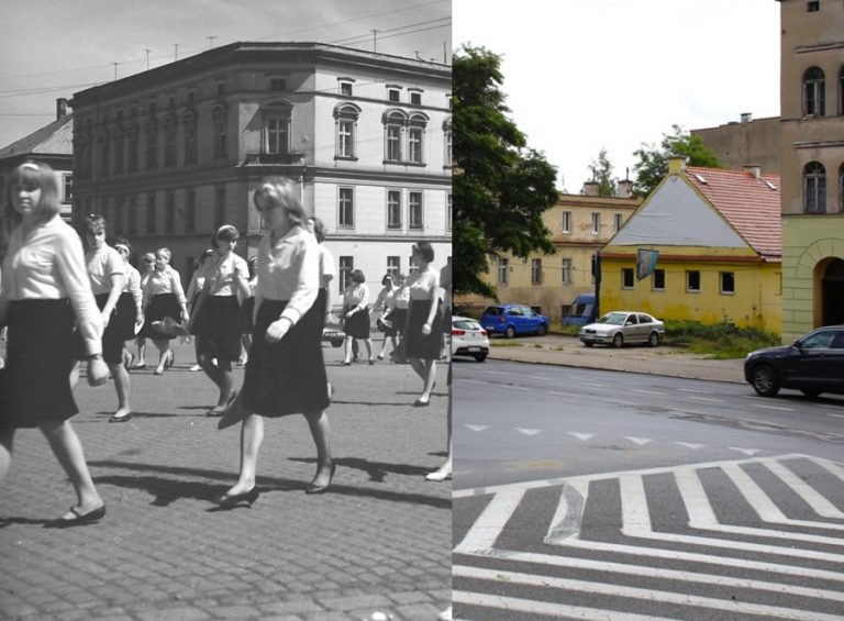 Świdnica wczoraj i dziś. Ul. Wrocławska