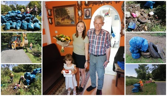 Zebrali prawie 6 tysięcy złotych dla samotnego ekologa