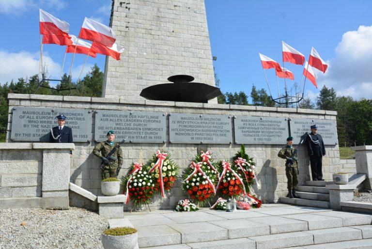 Uczcili ofiary II wojny światowej. Symboliczna uroczystość z powodu pandemii