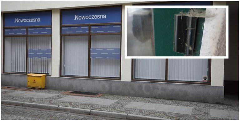 Biuro poselskie Nowoczesnej pokrył kurz