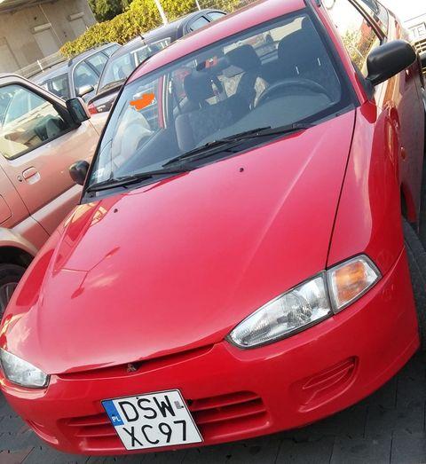 Skradziono osobowe Mitsubishi [Aktualizacja]