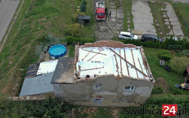 Ośmioosobowa rodzina straciła dach nad głową