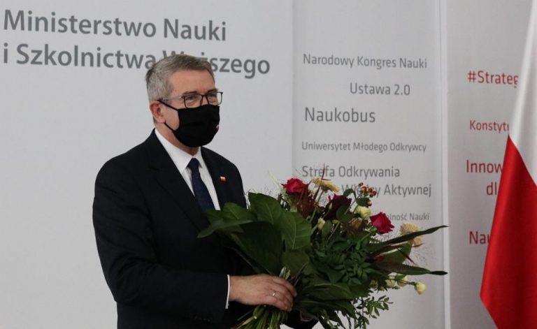 Wojciech Murdzek pożegnał się z teką ministra nauki i szkolnictwa wyższego