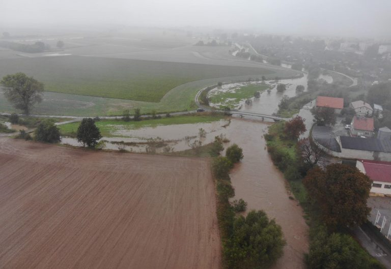 Gmina Dobromierz ogłasza alarm przeciwpowodziowy