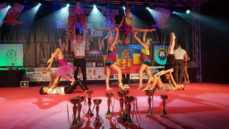 Mistrzowie Polski w fitness gimnastyczno-akrobatycznym