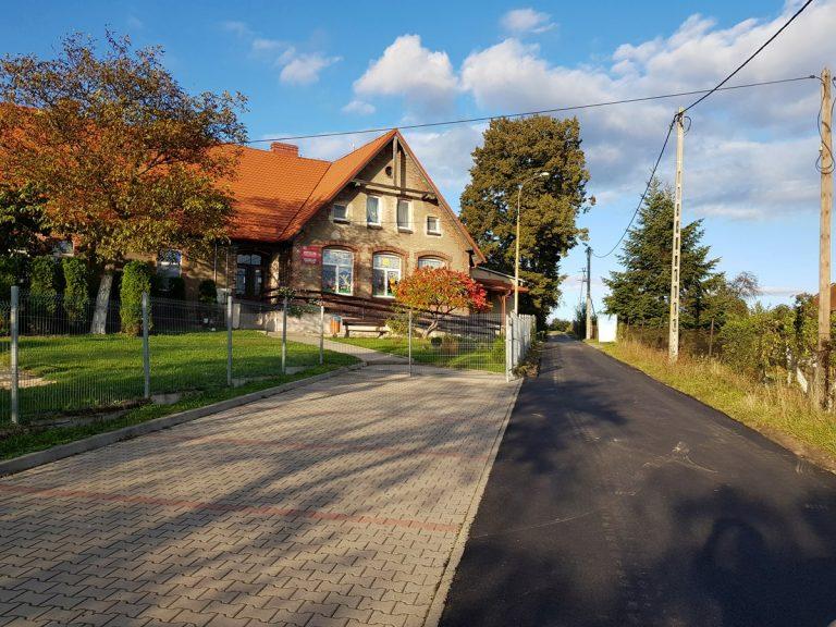 Remontgminnych dróg w Boleścinie na finiszu [FOTO]