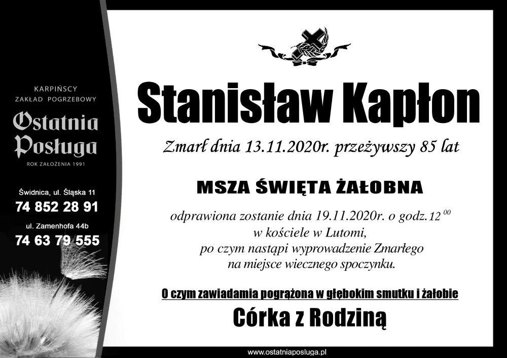 Stanisław Kapłon