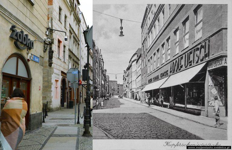 Świdnica wczoraj i dziś. Ul. Kotlarska