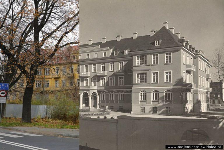 Świdnica wczoraj i dziś. Ul. Westerplatte