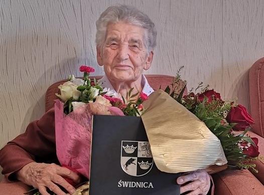 100. urodziny Heleny Goduli ze Świdnicy