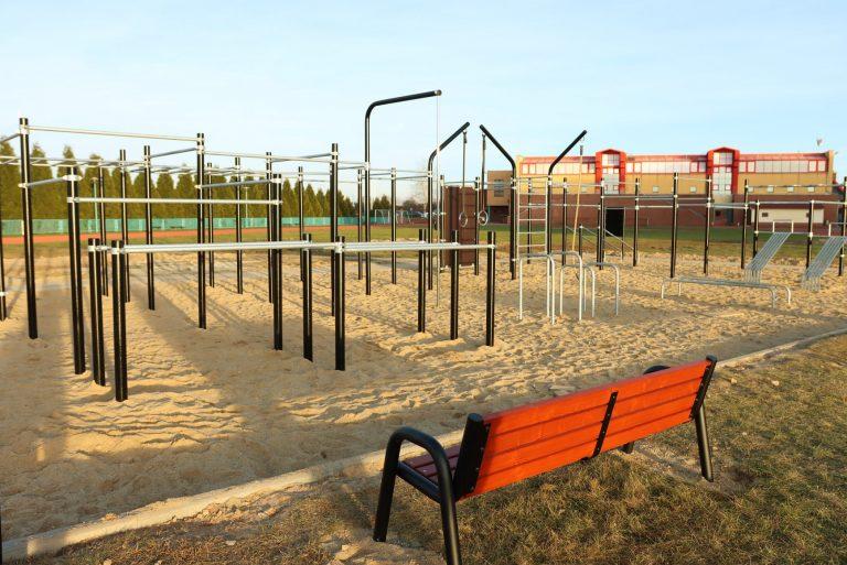 Plac do street workout'u gotowy [FOTO]