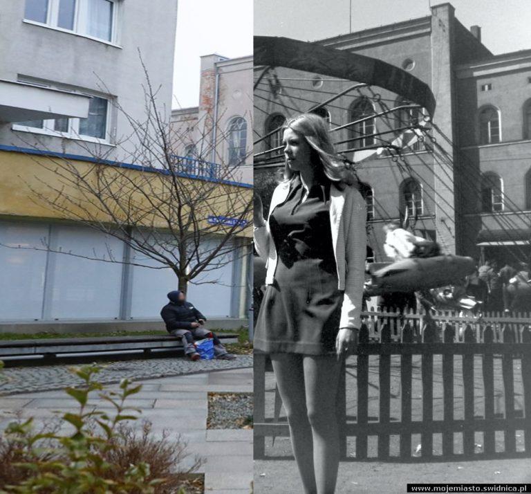 Świdnica wczoraj i dziś. Ul. Franciszkańska