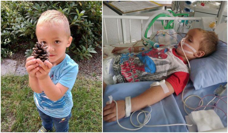 Syn strażaka potrzebuje pomocy. Ruszyła zbiórka na rzecz 4-letniego Marcela