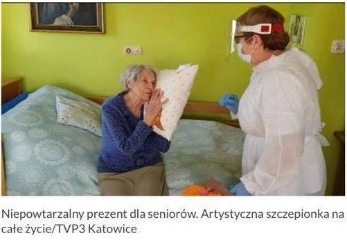"""""""Podusia dla babci i dziadziusia"""". MDK zachęca do udziału w akcji dla seniorów"""