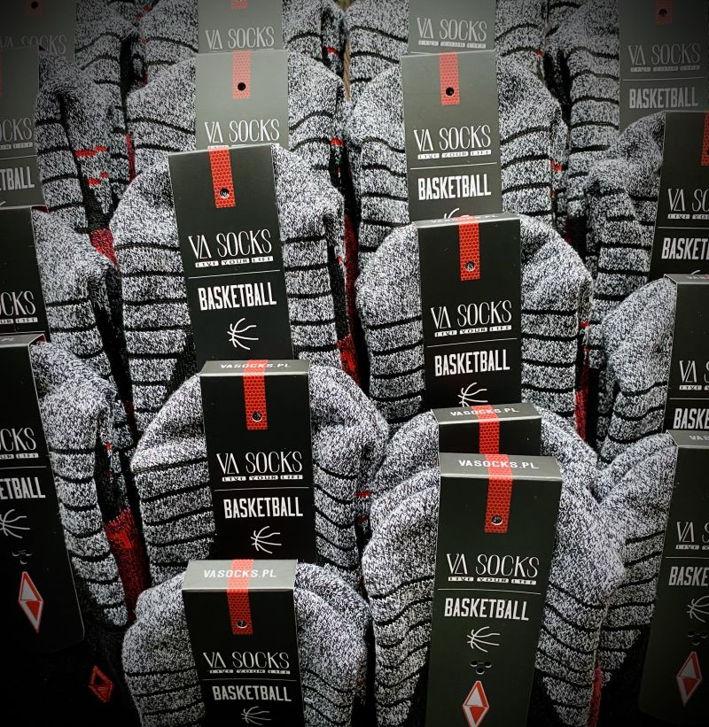 Skarpety Personalizaowne do Koszykówki VA Socks