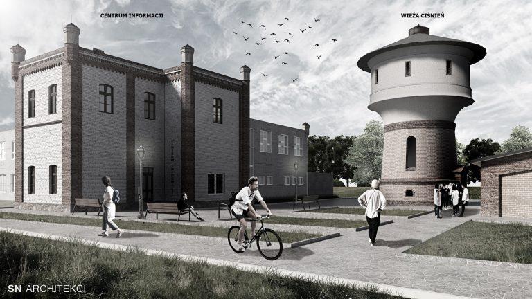 Chcą stworzyć szlak zabytków kolejnictwa. Kolejowe obiekty czeka przemiana, mieszkańcy zyskają nową przestrzeń. Zobacz wizualizacje!