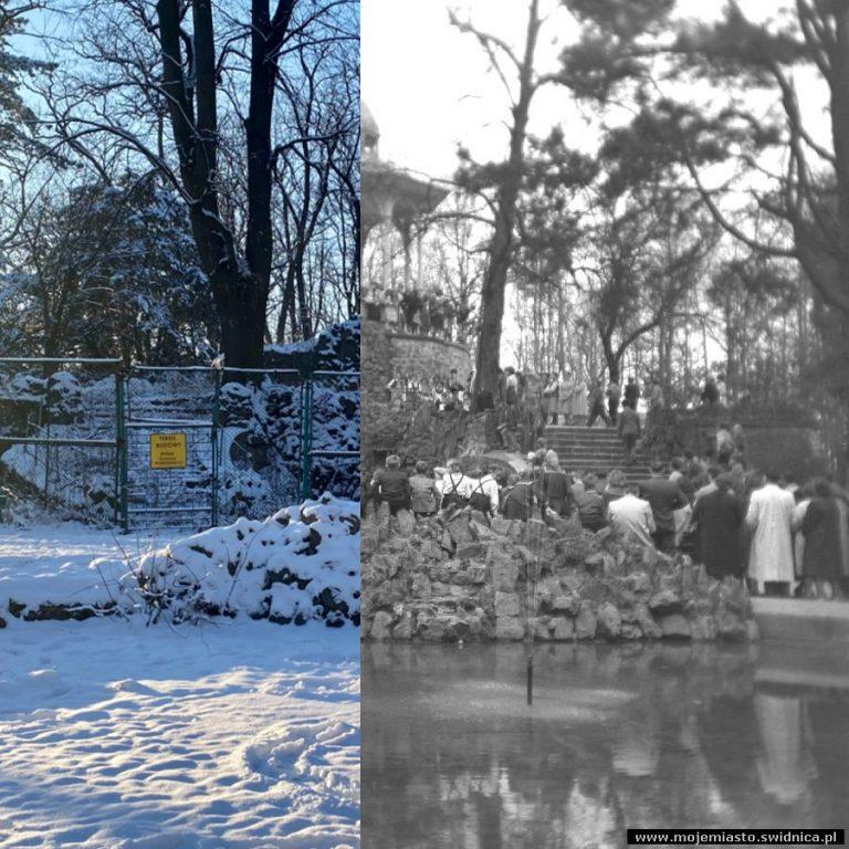 Świdnica wczoraj i dziś. Park Młodzieżowy